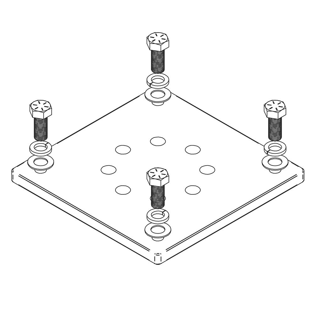 MAGNUM MMA-BASE12 Concrete Base Plate