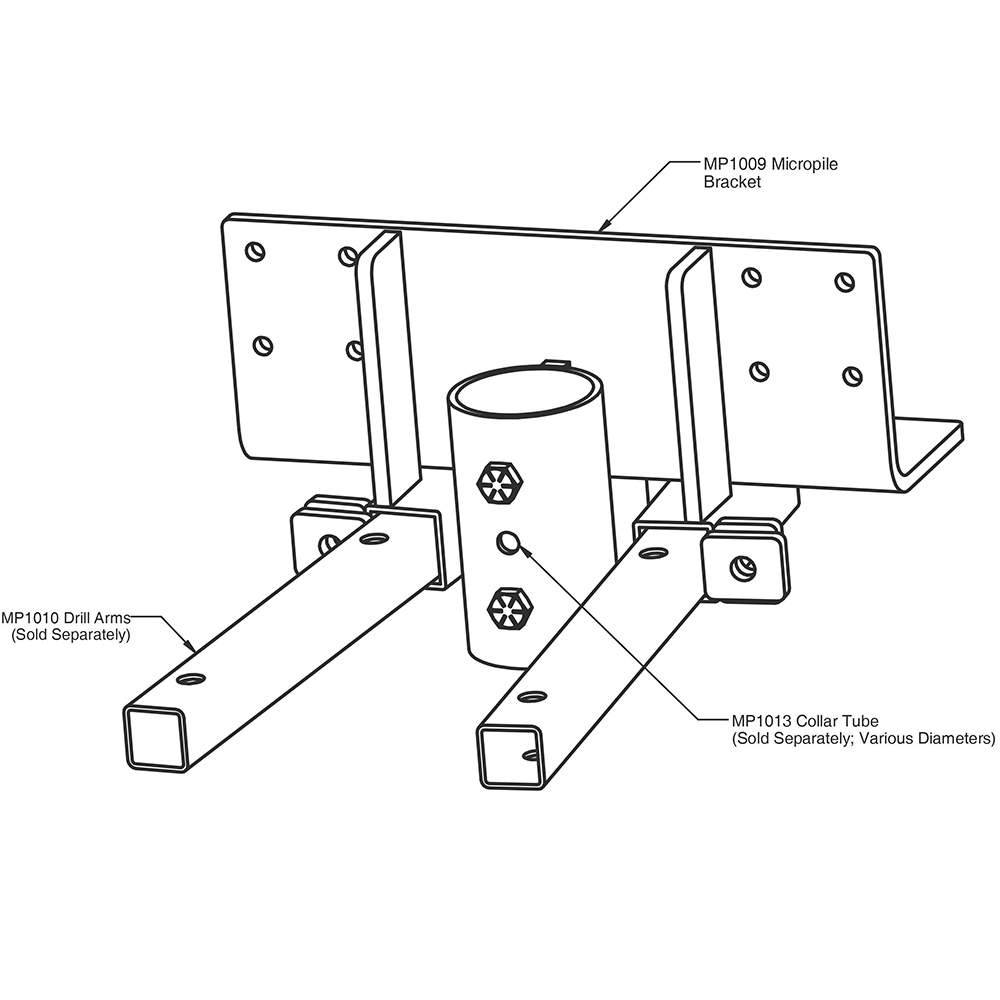 MAGNUM Piering MP1009 Micropile Bracket