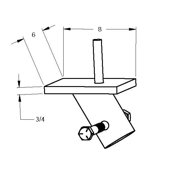 MAGNUM MHC1545-3N68B Panel Brace Cap