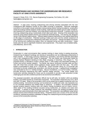 OSU Shoring Paper